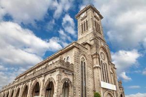 Old church in Nha Trang Vietnam