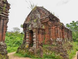 Ancient Hindu Temple in My Son, Vietnam