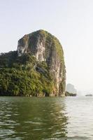 beautiful  view in halong bay,vietnam.