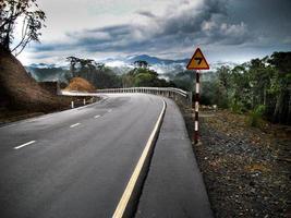 estrada alpina alta