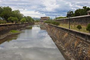 Moat at a Citadel in Hue photo