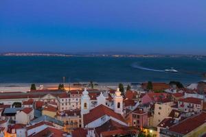 view of Alfama, Lisbon, Portugal photo