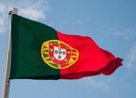 Portuguese flag on Castelo de Sao Jorge