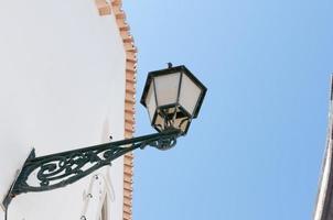antiga lanterna de rua em portugal