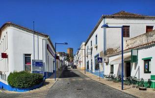 Street of Mertola village photo