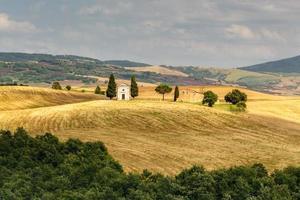 capilla en toscana, italia
