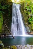 cachoeira na ilha de são miguel, açores, europa