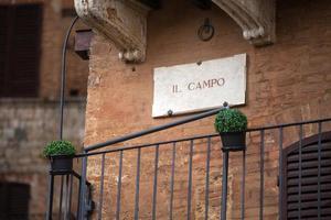 Piazza Del Campo in Siena photo