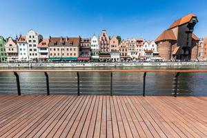 Traditional architecture in Gdansk, Poland.