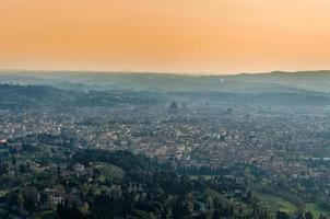 panoramic view of Firenze from Fiesole photo
