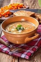 Split pea soup.