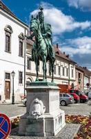 Andras Hadik statue photo
