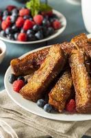 palitos de tostadas francesas caseras