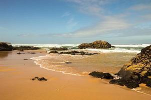 Guincho beach close to Cascais in Portugal.