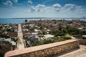 Cuba traditional colonial village of Gibara in Holguin province