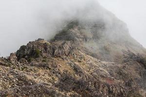 pico do arieiro na ilha da madeira, portugal
