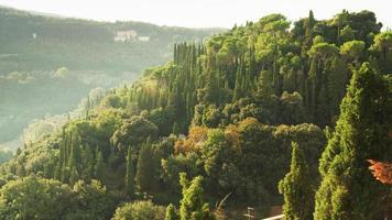 paisagem exuberante e bela da toscana em florença, itália