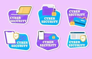 Modern Cyber Security Sticker Collection