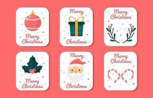 Merry Christmas Family Gathering Greeting Card Collection