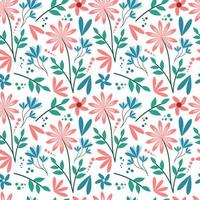 Pastel Flower Seamless Pattern