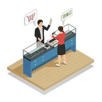 Isometric payment methods composition