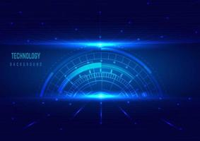 Abstract background with technology elements