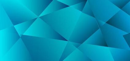 fundo polígono azul abstrato