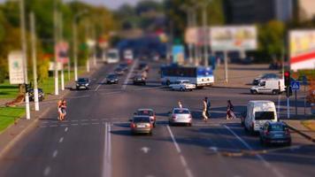 trânsito na cidade video