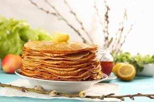 pancakes and willow branches