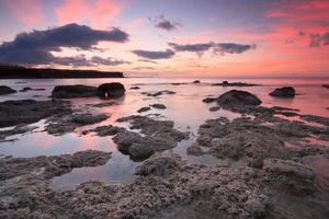 escena costera de creta, grecia. foto