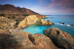 costa en creta, grecia. foto