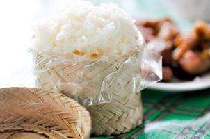 sticky rice photo