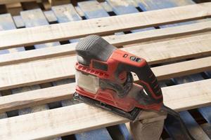 Pallets, strumenti di lavoro photo