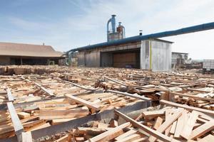 wooden plank storage