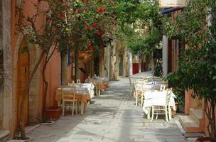 Rethymno street photo