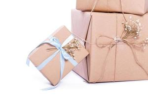kraft paper gift box