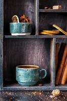 cafe y especias foto