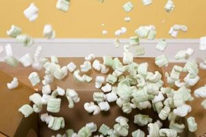 Exploding Packing Peanuts photo