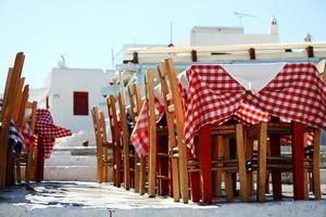 terraza griega photo