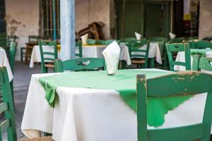 Greek island restaurants