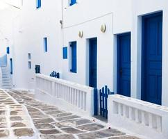 Mills on the Greek island