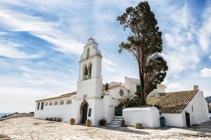 Monasterio de Vlacherna, Kanoni, Corfú, Grecia foto