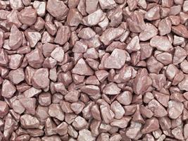 kleine braune steine - close-up
