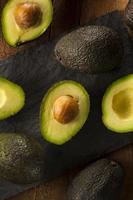 Organic Raw Green Avocados