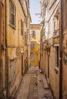 Corfu town back street