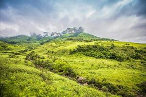en el camino a Drakensberg