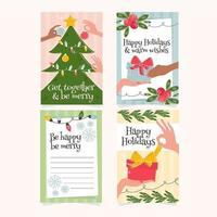 Playful Christmas Cards Collection
