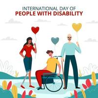 People with Disability Celebrating