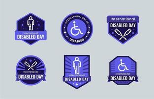 Day of Disabled Label Collection