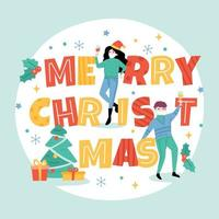 Christmas with Protocol Typography